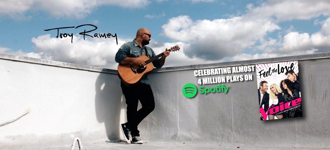 Singer Troy Ramey